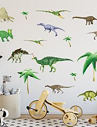 preiswerte -Tiere Mode Botanisch Wand-Sticker Flugzeug-Wand Sticker Dekorative Wand Sticker, Kunststoff Haus Dekoration Wandtattoo Wand