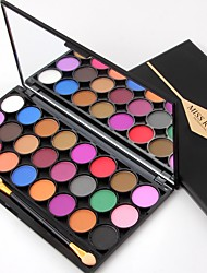 cheap -24 Eyeshadow Palette Matte Eyeshadow palette Powder Daily Makeup Halloween Makeup Party Makeup Fairy Makeup Cateye Makeup Smokey Makeup