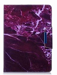 preiswerte -marmor muster kartenhalter mit stand flip magnetische pu ledertasche karte tasche mit muster für samsung galaxy tab a t550 t555c 9,7 zoll