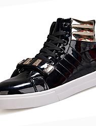 economico -Per uomo Similpelle / Vernice Autunno / Inverno Comoda Sneakers Bianco / Nero / Rosso