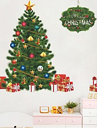 Christmas Romance Holiday Wall Stickers Plane Wall Stickers Decorative Wall Stickers,Plastic Material Home Decoration Wall Decal