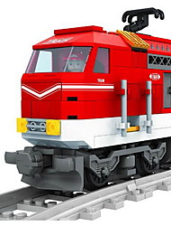 cheap -Building Blocks Train Toys Train Still Life Vehicles Fashion Kids Pieces