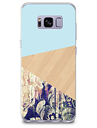 cheap -For Case Cover Pattern Back Cover Case Wood Grain Solid Color Soft TPU for Samsung Galaxy S8 Plus S8 S7 edge S7 S6 edge plus S6 edge S6