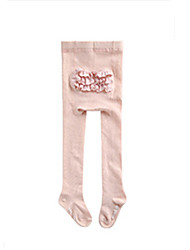 cheap -Girls' Solid Winter Fall Hosiery,Cotton Stretchy Blushing Pink Gray