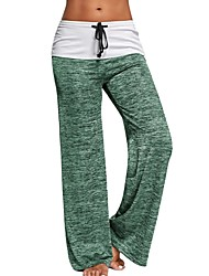 cheap -Women's Medium Stitching Solid Color Print Legging,Solid