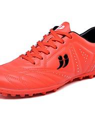 Masculino sapatos Borracha Primavera Outono Conforto Tênis Futebol Cadarço Para Atlético Amarelo Vermelho Azul