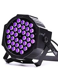 u'king zq-b193b 36 * 1w LED colore viola auto dmx suono attivato palcoscenico fase di parete per discoteca partito club ktv matrimonio