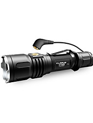 cheap -KLARUS XT12S LED Flashlights / Torch - 1600 lm Manual Mode Cree CREE XHP35 HI D4 Professional Easy Carrying Camping/Hiking/Caving
