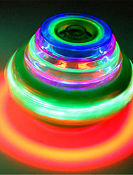 cheap -Spinning Top Toys Toys Outdoor Lighting Music LED Colorful Round 1 Pieces Kids Boys' Girls' Gift