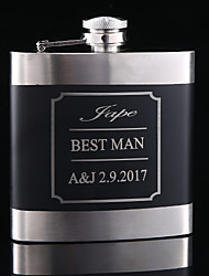 cheap -Couple Friends Stainless Steel / Iron Hip Flasks Wedding Gifts