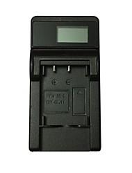 Cargador de batería de la cámara del usb de ismartdigi el11 lcd para la batería de nikon en-el11