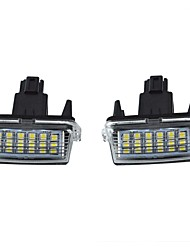 cheap -LED License Plate LED Lamps Waterproof Tag Bulb for TOYOTO