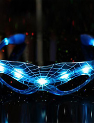 abordables -1 pièce LED Night Light Rouge Bleu Vert Batterie Décorative