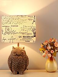 60 Contemporain Moderne Antique Style moderne Rustique Lampe de Table , Fonctionnalité pour Protection des Yeux Nouveautés , avec Autres