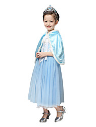 cheap -Halloween / Christmas /Children's Day / New Year Kid Princess Series Costumes / Fairytale Costumes Coat / Dress