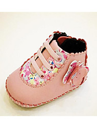Baby Shoes PU Fall Winter Comfort First Walkers Boots For Casual Green Red