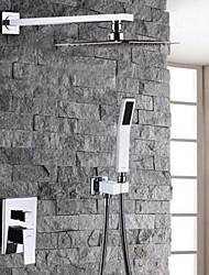 cheap -Shower Faucet - Modern / Contemporary Chrome Shower System