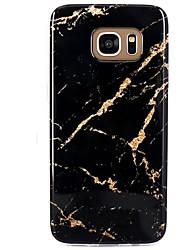 preiswerte -Hülle Für Muster Rückseitenabdeckung Marmor Weich TPU für S8 S8 Plus S7 edge S7 S6 edge plus S6 edge S6 S6 Active S5 Mini S5 Active S5 S4