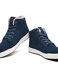 Da uomo Scarpe Cashmere Inverno Comoda Sneakers Lacci Per Casual Nero Blu Verde scuro
