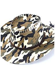 Недорогие -Для мужчин Шапки Узор На каждый день Богемный Соломенная шляпа,Лето Солома С принтом