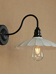 cheap -Vintage / Country / Traditional / Classic Wall Lamps & Sconces Metal Wall Light 110-120V / 220-240V 4W