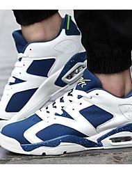 economico -Da uomo Scarpe PU (Poliuretano) Primavera Autunno Suole leggere Sneakers Per Casual Nero Bianco/nero White/Blue