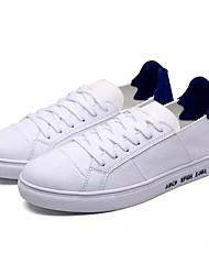 economico -Da uomo Scarpe Di corda Primavera Autunno Comoda Sneakers Lacci Per Casual White/Blue Bianco e verde