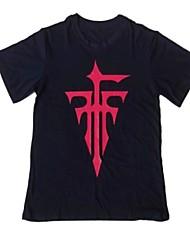 Inspiriert von Cosplay Cosplay Anime Cosplay Kostüme Cosplay-T-Shirt Druck Volltonfarbe Kurzarm T-shirt Für Mann