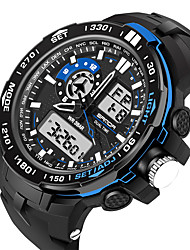 cheap -Men's / Women's Sport Watch / Military Watch / Smartwatch Chinese Alarm / Calendar / date / day / Chronograph Silicone Band Charm / Luxury / Casual Black / Slide Rule / Water Resistant / Water Proof
