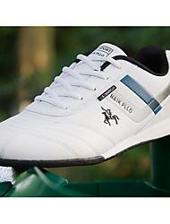 Herren Schuhe Herbst Komfort Walking für Normal Weiß Schwarz
