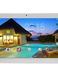 billiga -10.1 tum Android Tablet (Android 5,1 1280 x 800 Quad Core 2GB+32GB) / 64 / Mini USB / SIM kortläsare / TF-Kortplats / Hörlursuttag 3.5mm