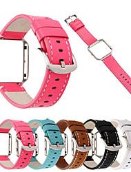 preiswerte -für fitbit blaze echtes leder armband armband armband