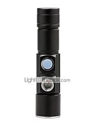 U'King Lanternas LED LED lm 3 5 Modo Cree XP-E R2 Foco Ajustável Tamanho Compacto Tamanho Pequeno Zoomable para Campismo / Escursão /