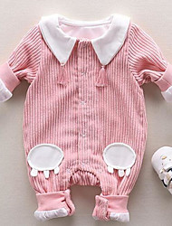 Baby Solid Color One-Pieces,Cotton Autumn/Fall Spring