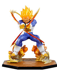 Anime Action Figures Inspired by Dragon Ball Vegeta PVC 15 CM Model Toys Doll Toy
