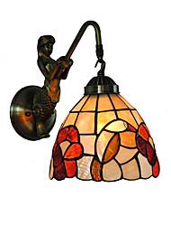 Недорогие -OYLYW Тиффани / Деревенский стиль / Античный Настенные светильники Металл настенный светильник 110-120Вольт / 220-240Вольт 60 W / E26 / E27