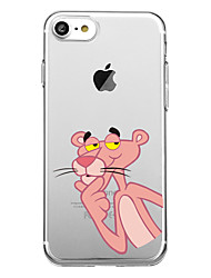 cheap -For iPhone X iPhone 8 Case Cover Pattern Back Cover Case Animal Soft TPU for Apple iPhone X iPhone 8 Plus iPhone 8 iPhone 7 Plus iPhone 7