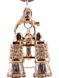 cheap -Key Chain Toys Novelty Crystal Rhinestone Zinc alloy Unisex Pieces