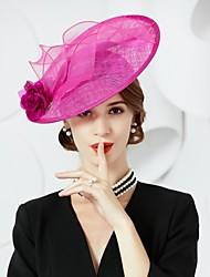 economico -Lino / Seta cappelli con 1 Matrimonio / Occasioni speciali Copricapo
