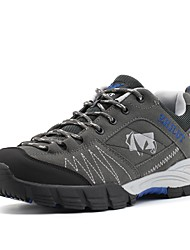 cheap -Men's Shoes Pigskin Fall Winter Light Soles Athletic Shoes Hiking Shoes For Athletic Outdoor Coffee Gray