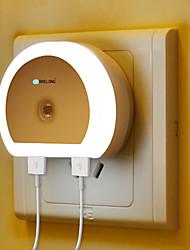 Недорогие -BRELONG® 1шт Настенный светильник Белый прикроватный С портом USB