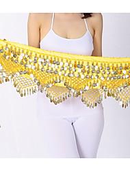 economico -Danza del ventre Cintura per danza del ventre Per donna Prestazioni polyster Paillettes Cintura