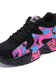 cheap -Men's Shoes Spring / Fall Comfort Athletic Shoes Walking Shoes Fuchsia / Blue / Black / White