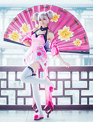 cheap -Inspired by Cosplay Cosplay Anime Cosplay Costumes Cosplay Suits Others Dress Sleeve Socks For Female