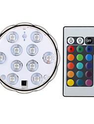 preiswerte -1set 4W 200-250 lm Smart LED Glühlampen B 10 Leds SMD 5050 Wasserfest Dekorativ Ferngesteuert RGB DC4.5