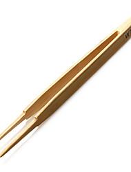 wts-14a flacher Bambus Pinzette - breit bis scharf beige