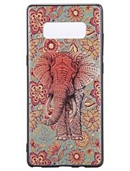 Hülle Für Note 8 Muster Rückseitenabdeckung Elefant Weich TPU für Note 8 Note 5 Edge Note 5 Note 4 Note 3 Lite Note 3 Note 2 Note Edge