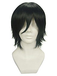 cheap -Cosplay Wigs Pandora Hearts Gilbert Nightray Anime Cosplay Wigs 32 CM Heat Resistant Fiber Men's