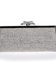 cheap -Women's Bags Special Material Evening Bag Bow(s) for Wedding Event/Party All Seasons Silver