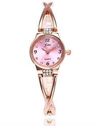 abordables -Mujer Reloj de Moda Cuarzo Gran venta Aleación Banda Encanto Plata Oro Rosa